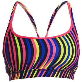 Funkita Sports Top Dames, squiggle piggle